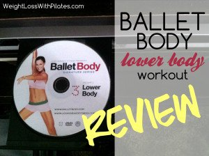 Ballet Body Lower Body DVD Review